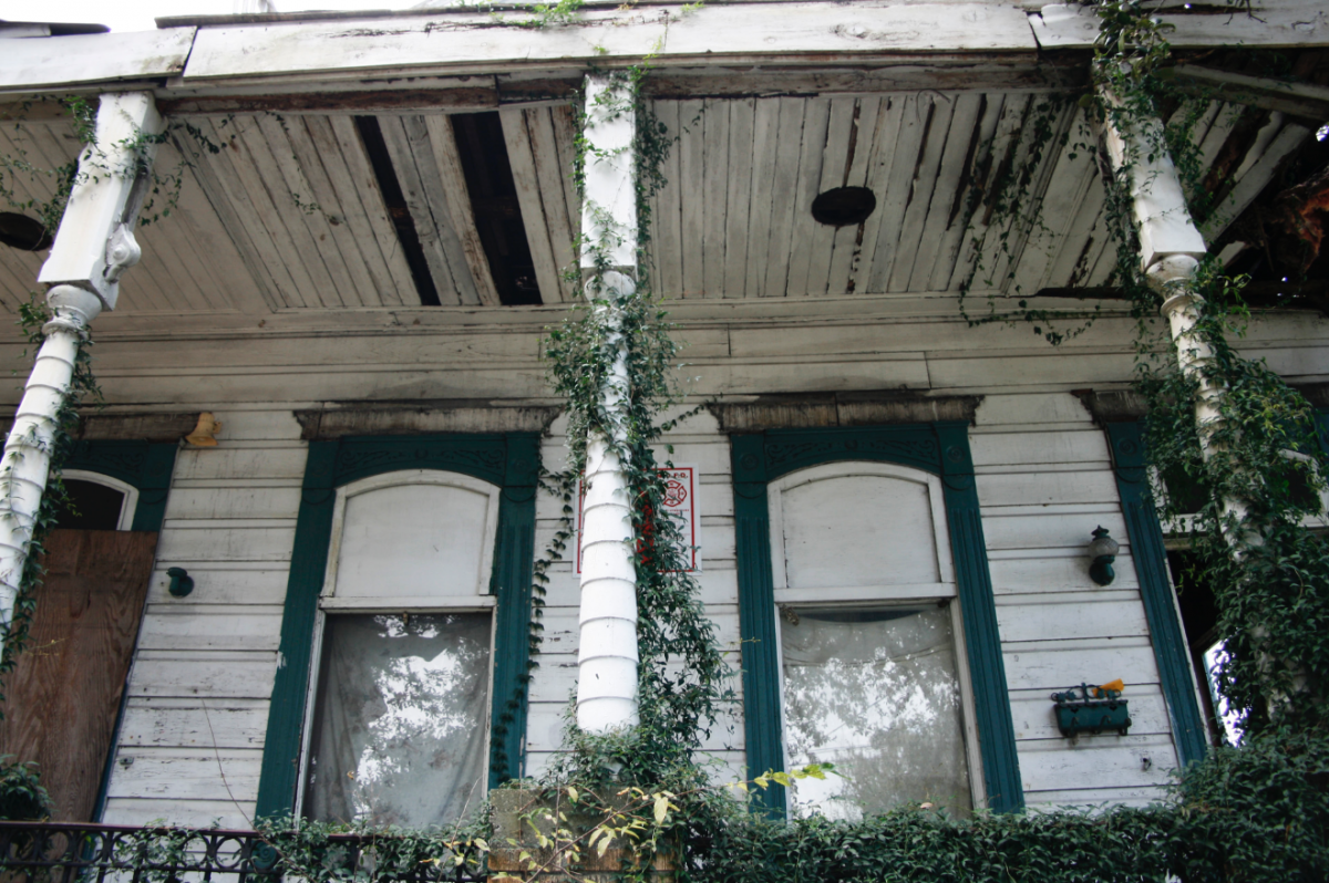 New Orleans – Broken Houses