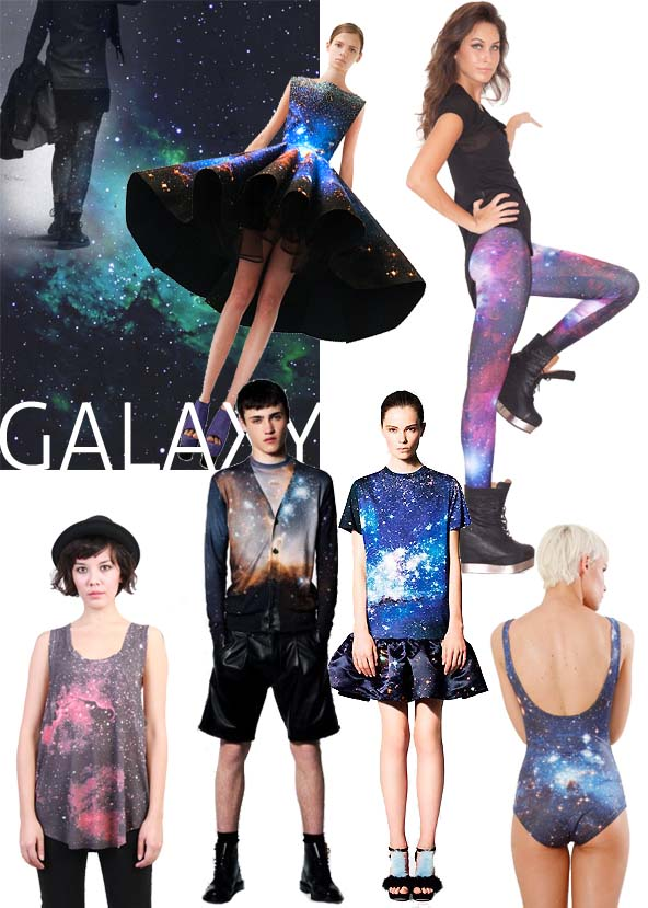 GALAXY PRINTS everywhere!