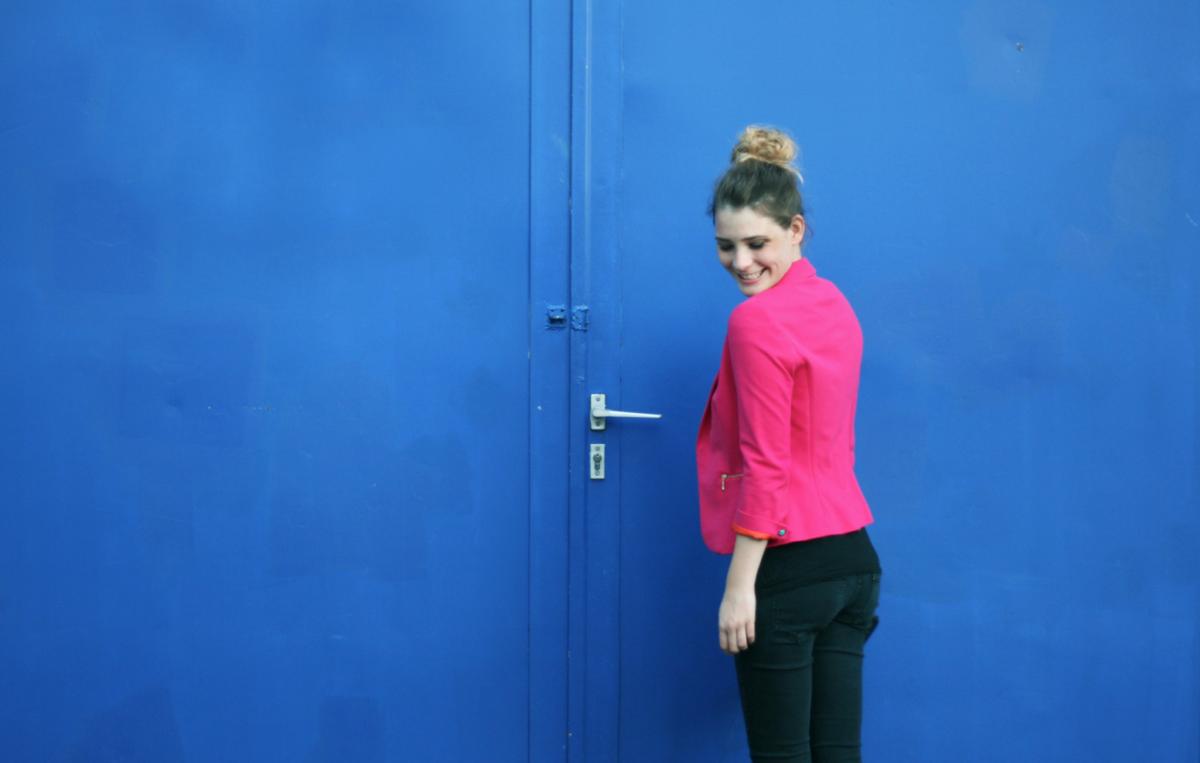 WHAT I WEAR – The Pink Blazer