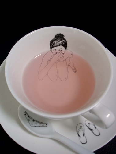tea time with naked girls