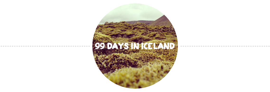99 days in Iceland