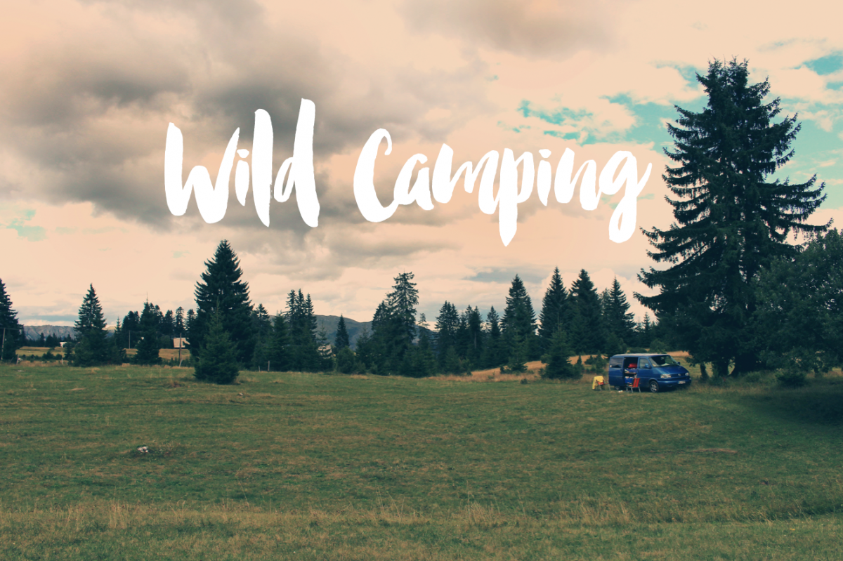 WILD CAMPING IN CROATIA & MONTENEGRO