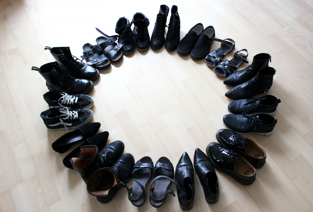 WHAT I WEAR – BLACK SHOES