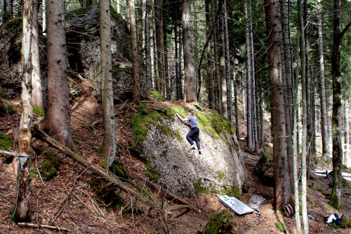 Bouldering in Steigbachtal & Kammeregg – Allgäu