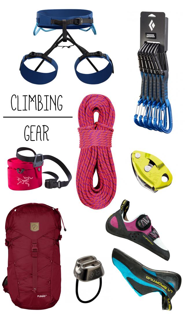 Climbing gear all new