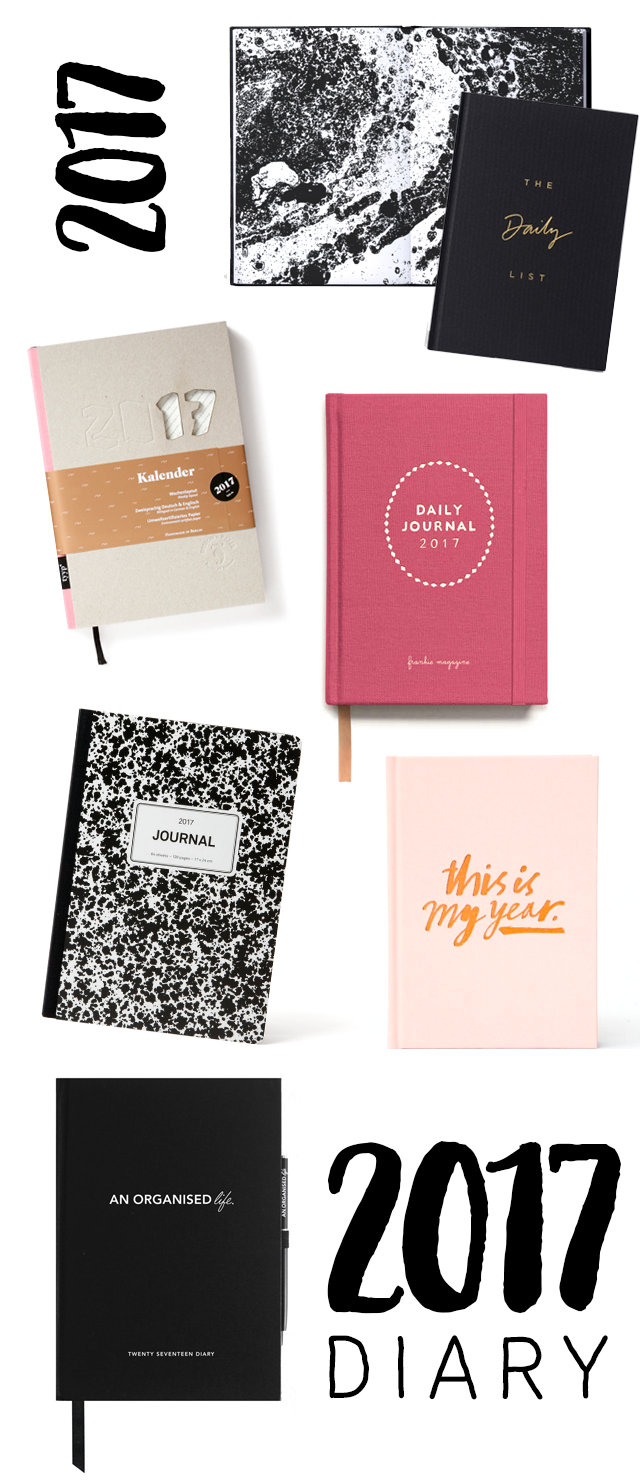 Diary / Planner / Journal / Notebook for 2017