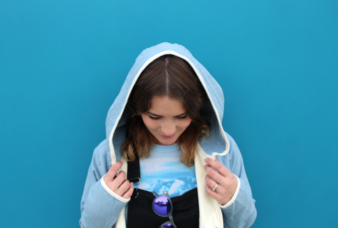What I wear – Baby blue with Burton