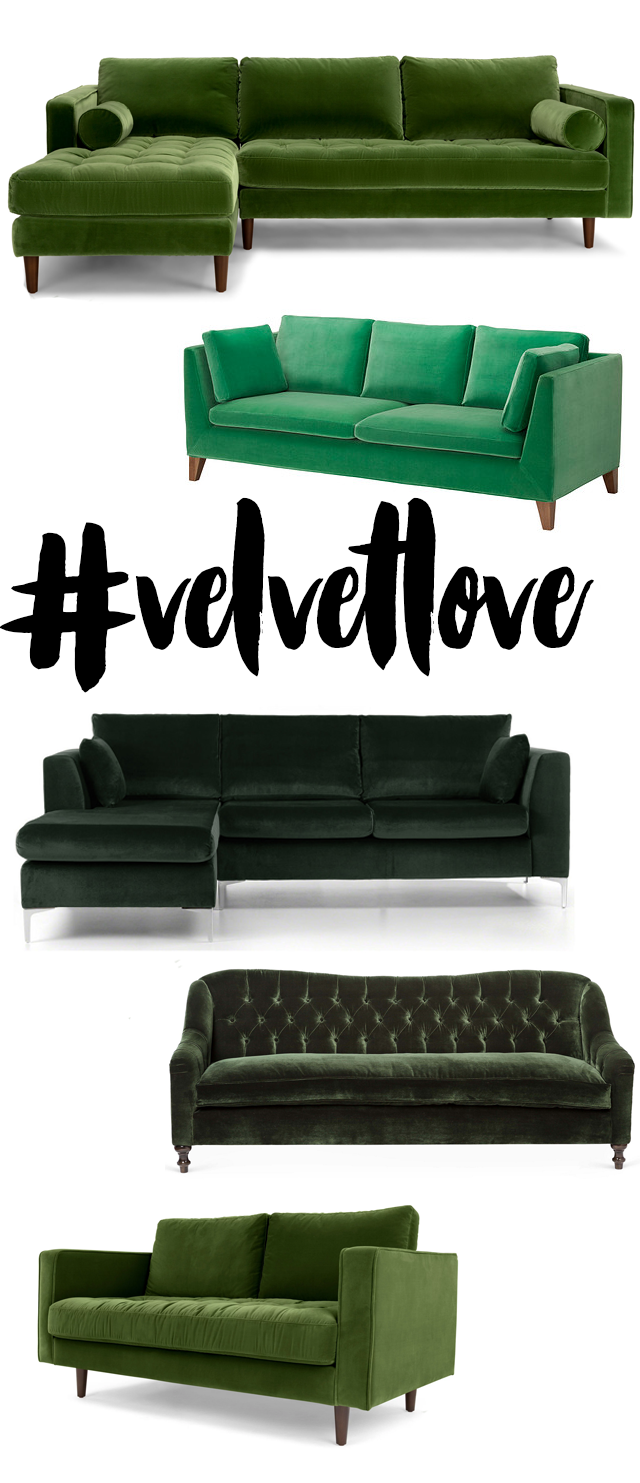 Want: A Velvet Couch