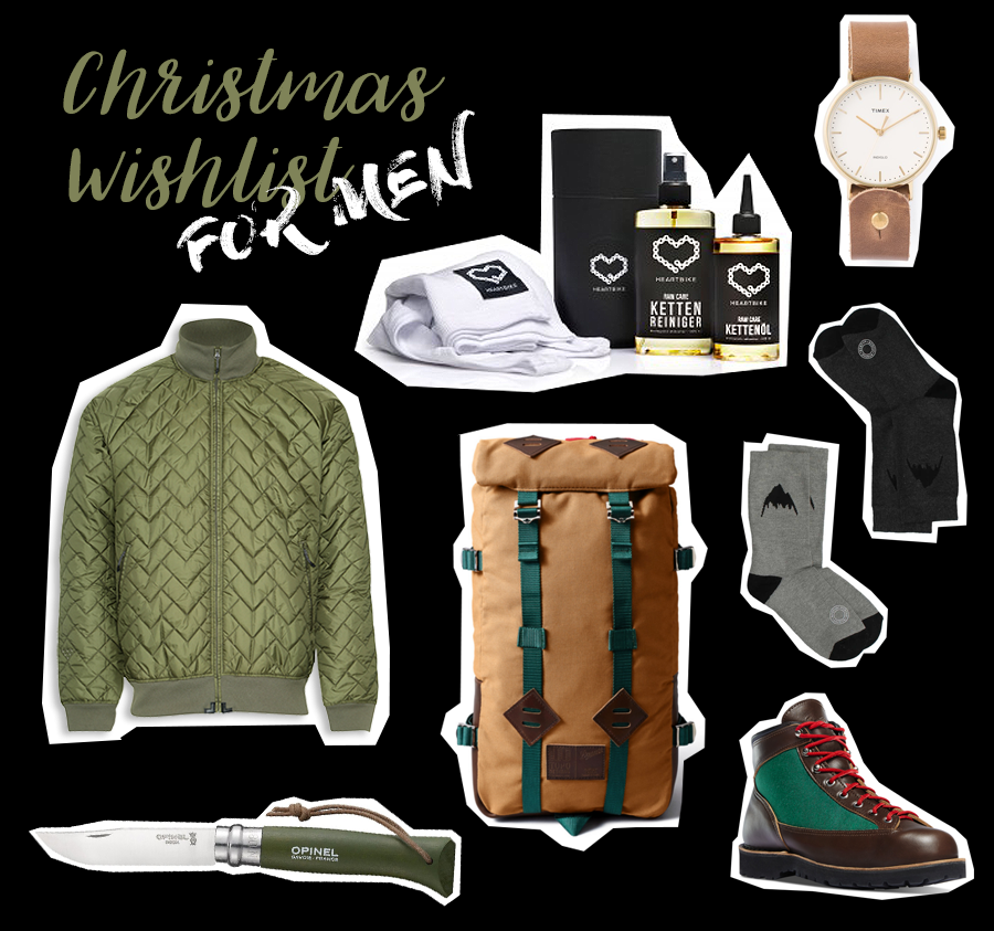 Christmas Wishlist for men