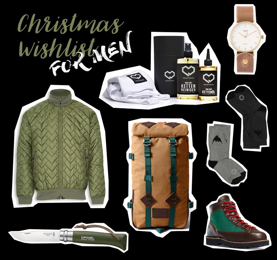 Christmas Wishlist for men