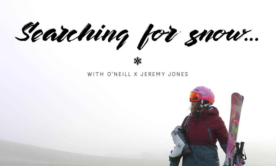 In search of Snow with O'Neill