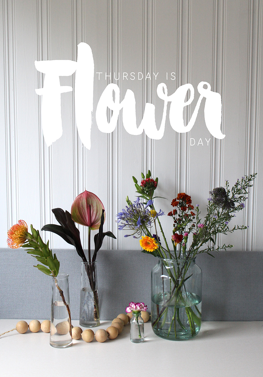 Thursday is Flower day!