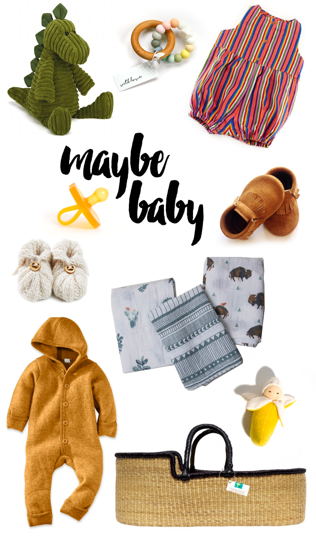 All this cute baby stuff