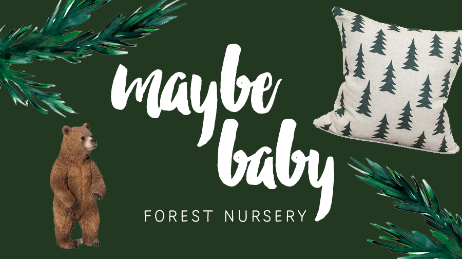 Nursery Inspiration – Forest Green