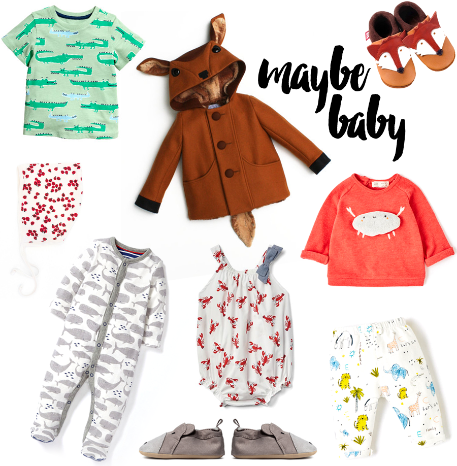 Baby Clothing – Animal prints