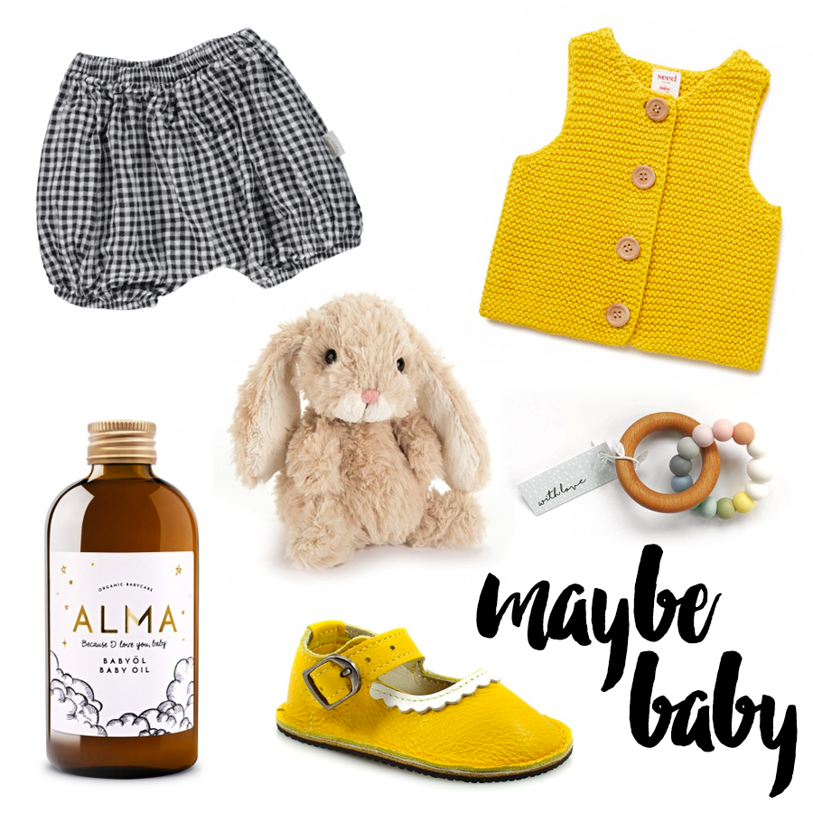 Maybe baby – Yellow mellow