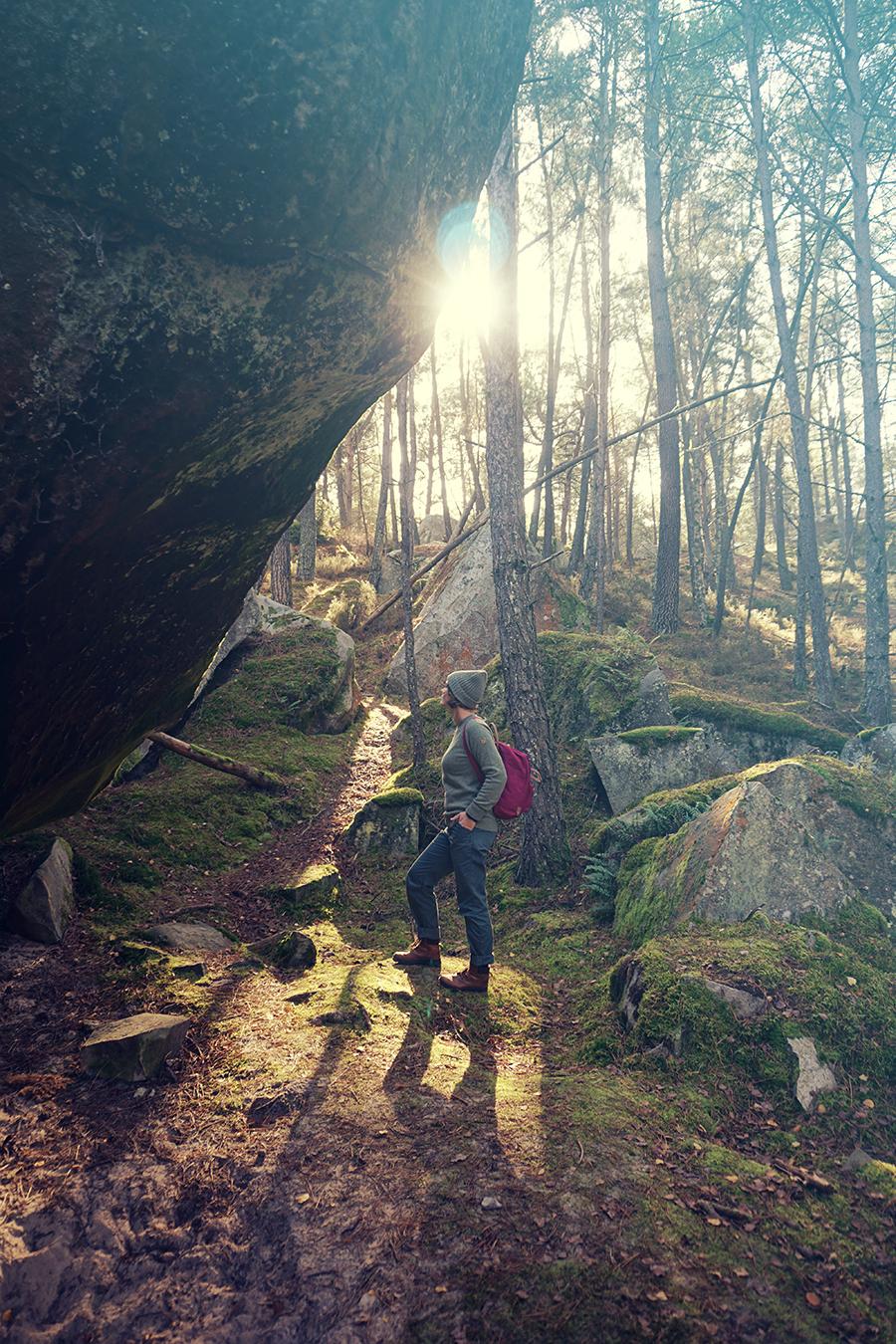 Into the woods with Fjällräven