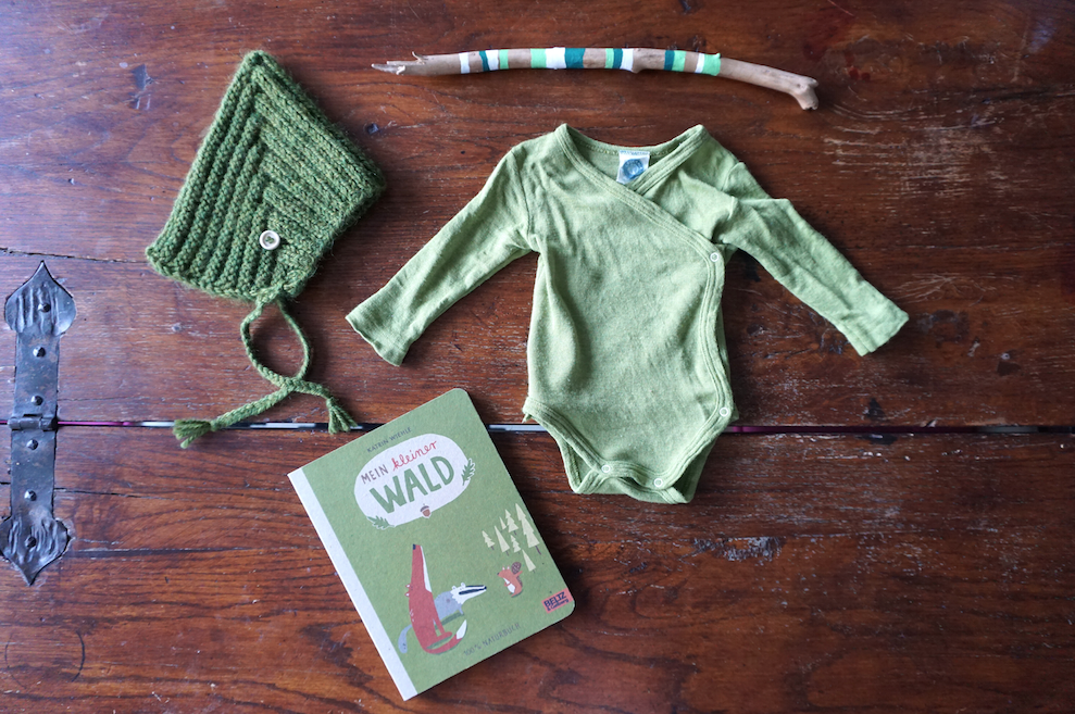 Maybe Baby Outfit – Greenery