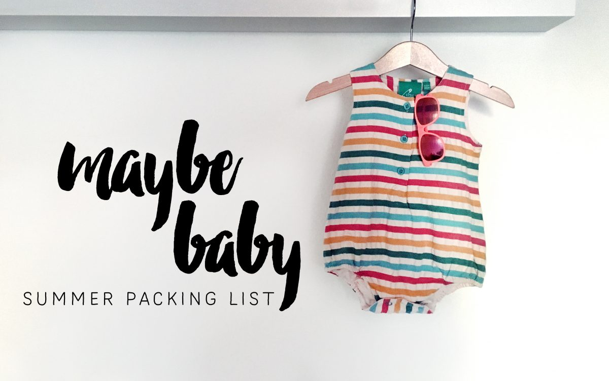 What to pack for Australia – The Baby Version