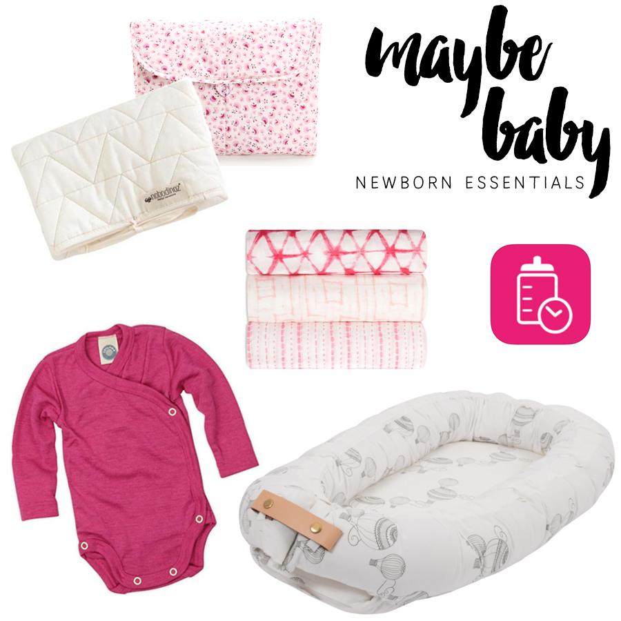 My top 5 Newborn Essentials