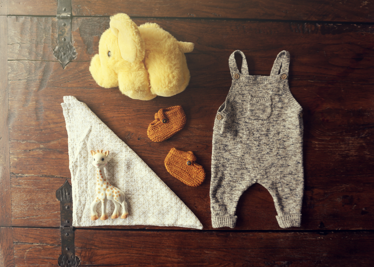 Maybe Baby Outfit – Yellow Mellow