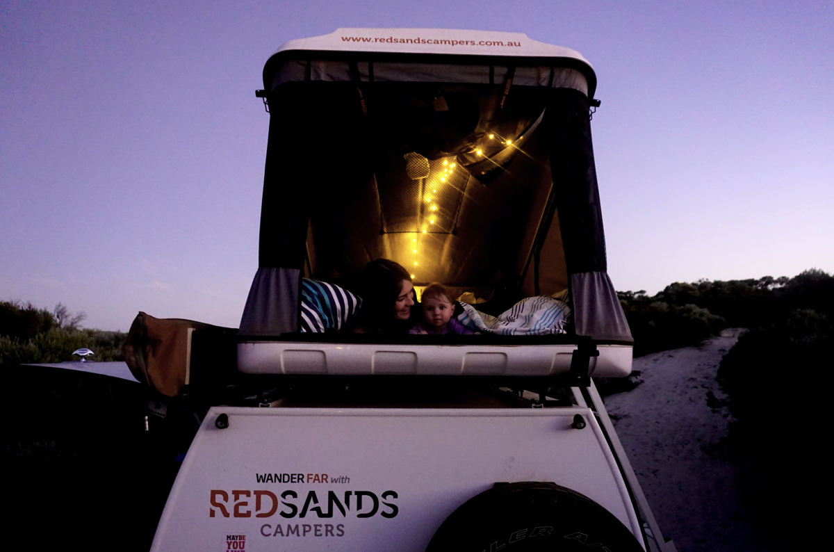 With RedSands Campers through Western Australia