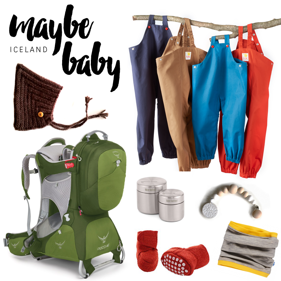 Packing for Iceland with a baby