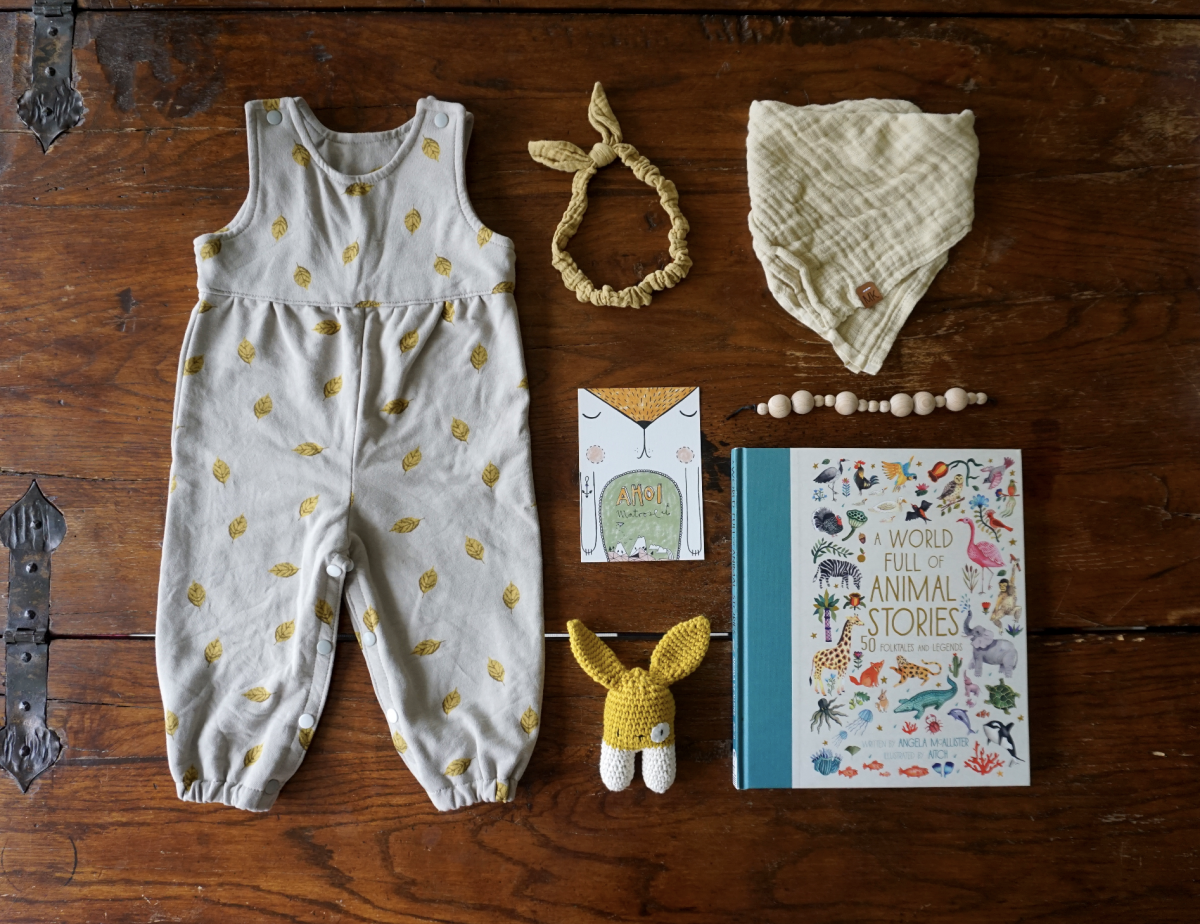 Baby Outfit – Fall Leaves in Summer