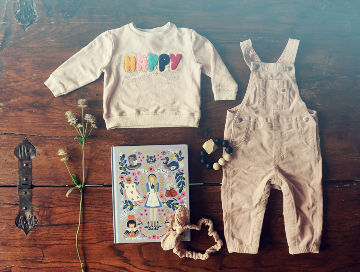 Baby Outfit – Happy in Wonderland