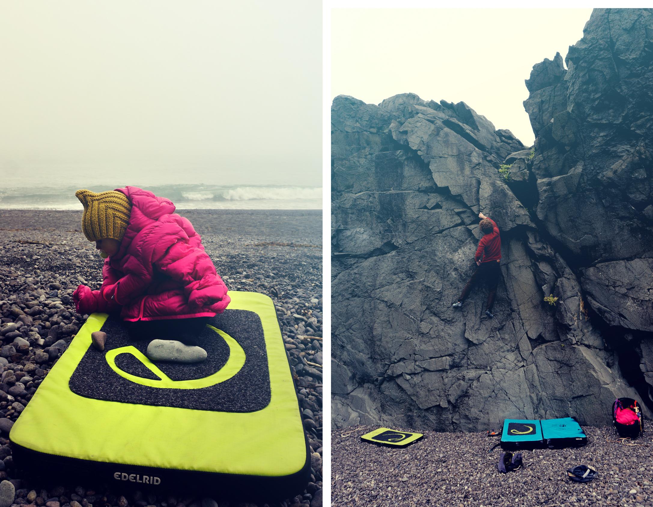 Around Iceland Bouldering Vestrahorn Amp On A Black Beach