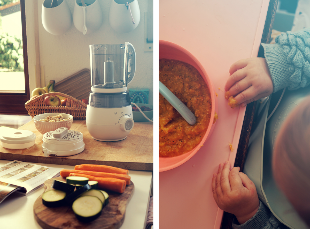 4 in 1 – Baby Food with Philips Avent