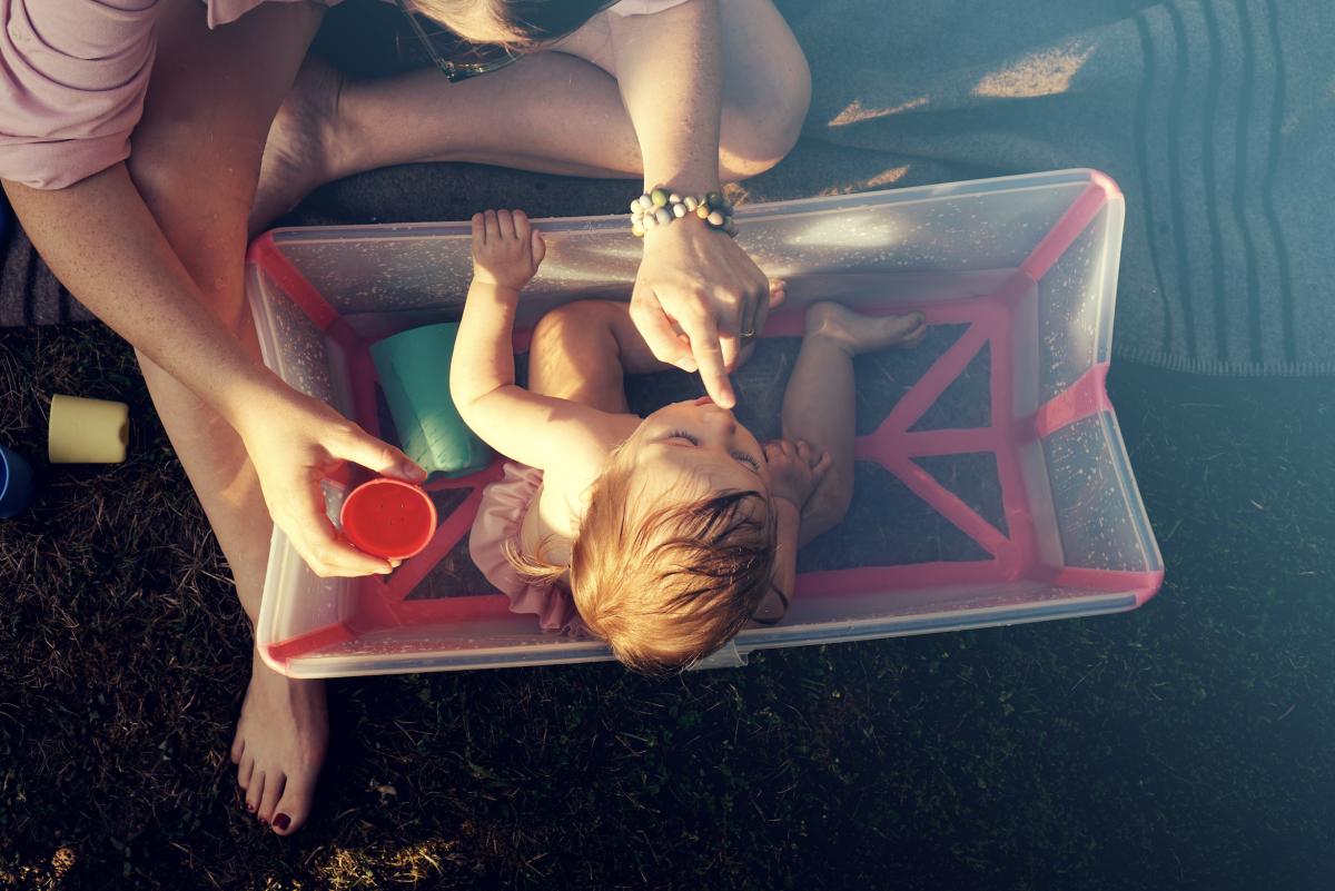 Stokke Flexi Bath – Summer Splish Splash