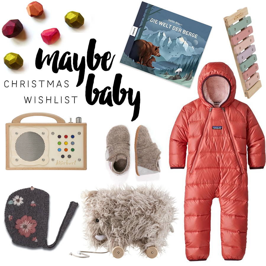 Maybe Baby Christmas Wishlist