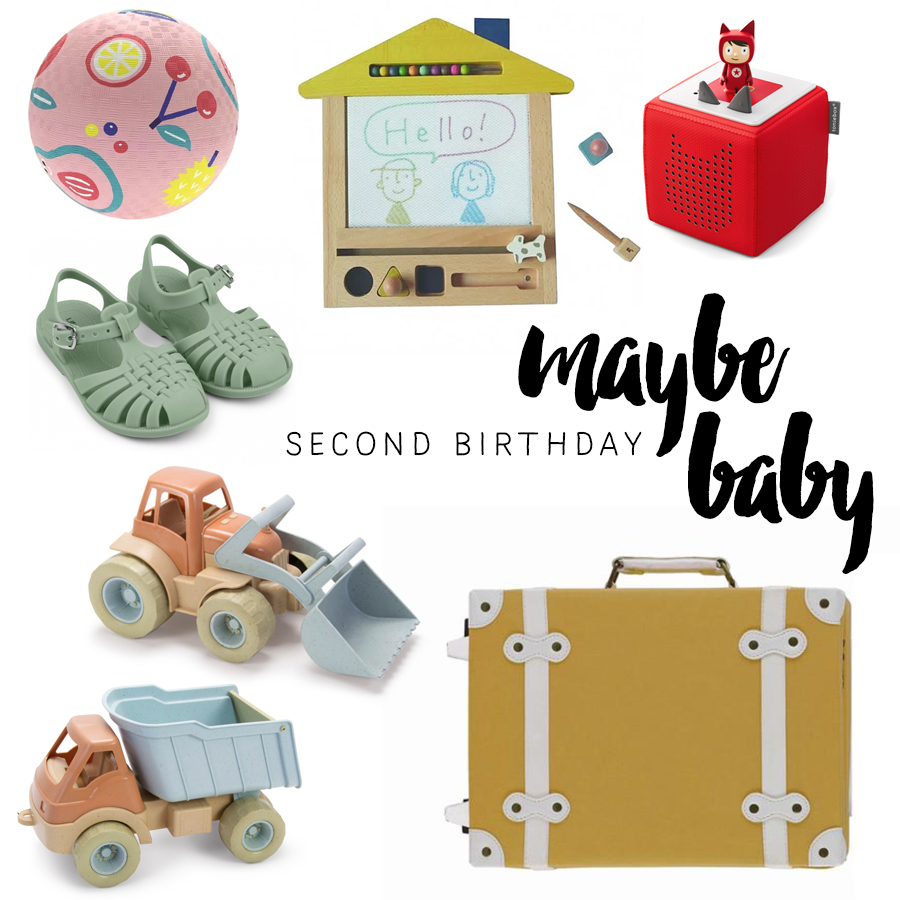 Maybe baby – Second Birthday