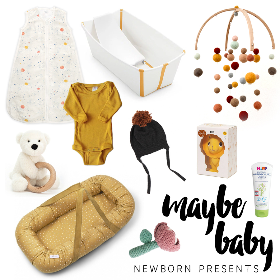 Presents for a newborn, the Mama & for the sibling